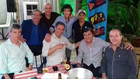 Toninho defaveri, Daercio Neto, Dernival Mânfio, Laercio Sevilha, Nivaldo, Cledi Oliveira, Carlos Hernandes e Genildo dos Santos.