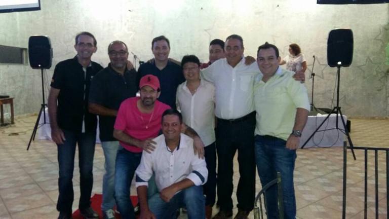 Valentim, Adib, MManoel, Wesley, Davi, Bala e Jery Adriano