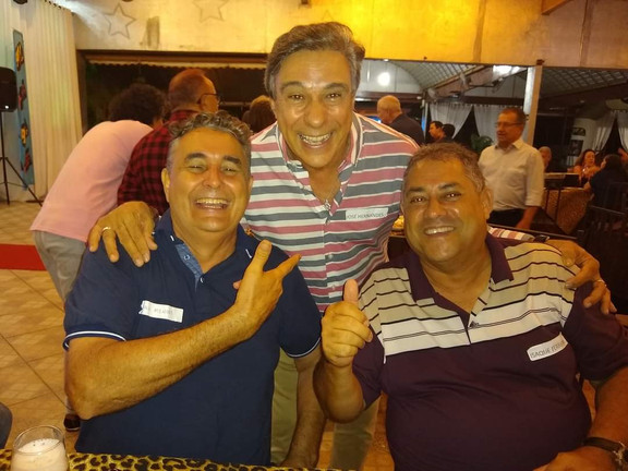 Davi Mendes, José Carlos Hernandes e Isaque Ferreira