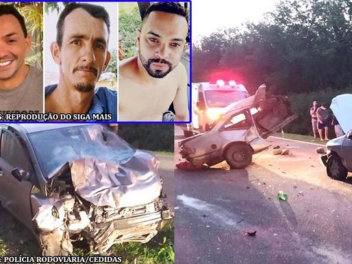 Identificada as vítimas fatais do acidente na vicinal que liga Adamantina e Mariápolis