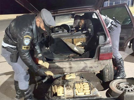 Polícia Rodoviária prende jovem de 21 anos por tráfico
