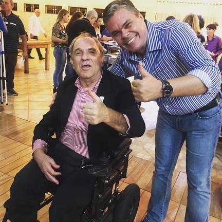 Giuliano Panvéchio e Osmar Santos