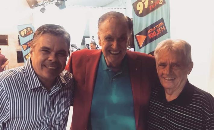 Giuliano Panvéchio, Sérgio Cunha e Pedro Panvéchio