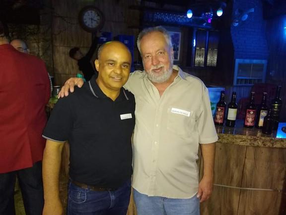 Herivelto Gelli e Valdecir Luis