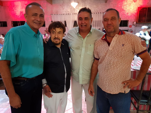 Capitão Neves, Dr. Pedro Banssan, Davi Mendes e Motor