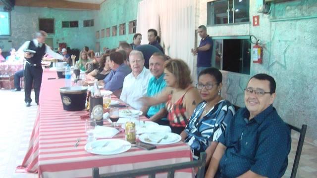 Joãzinho Trinta e esposa, Capitão Neves e esposa,  Angelo Neto...