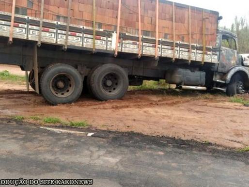 Polícia Civil diz que disparo de arma de fogo contra caminhão foi tentativa de homicídio