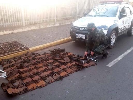Polícia Ambiental prende indivíduo por furto em Herculândia