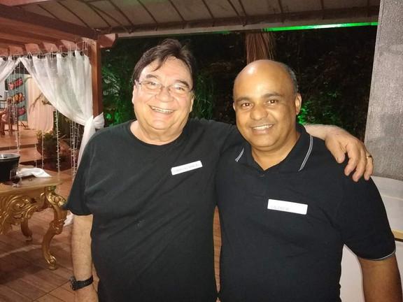 Osvaldo Maciel e Valdecir Luis