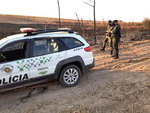 Degradação Ambiental por meio de queimada rende multa de R$ 111 mil em Queiroz