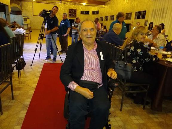 Osmar Santos - Homenageado do Terceiro encontro