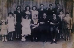 Família Garcia - Em pé da esq