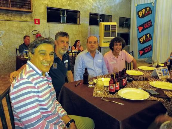 José Carlos Hernandes, ?, Genildo dos Santos e Laércio Sevilha