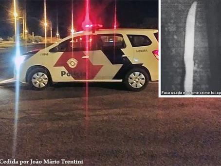 Mulher de 27 anos é esfaqueada em Queiroz