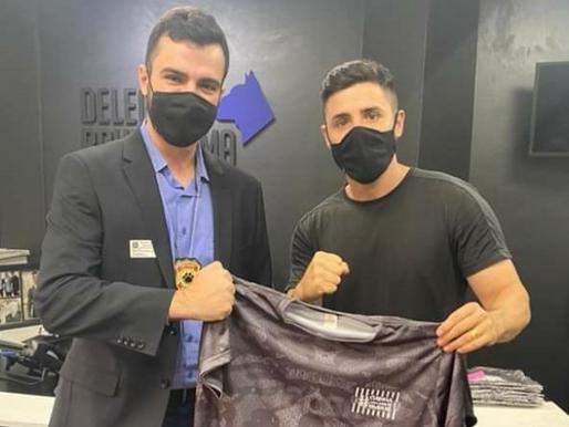 Vereador Jorginho foi até a ALESP para tratar da causa animal