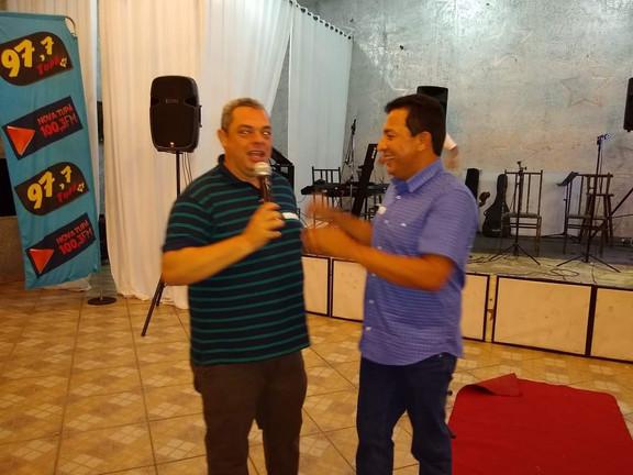 Ademir André e Claudio Ignácio