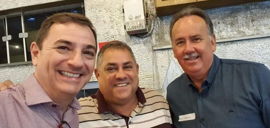 Márcio Manoel, Isaque Ferreira e Eder Campos