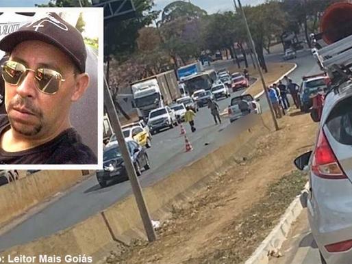 Caminhoneiro morre atropelado em Goiânia, o corpo está sendo transladado para Herculândia