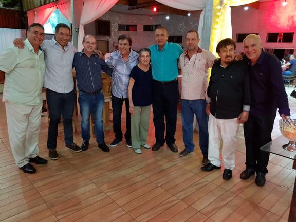Davi Mendes, Cledi Oliveira, Genildo dos Santos, José Carlos Hernandes, Dona Dirce, Capitão Neves, Motor, Dr. Pedro Bassan e Dernival Mânfio