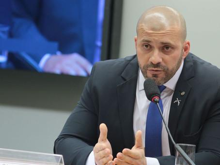 Relator pede suspensão do mandado de Daniel Silveira por seis meses