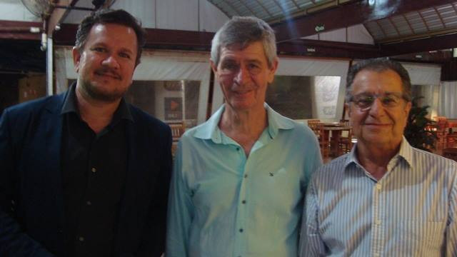 Rogério Silva, Toninho Devaferi e Juan Fonseca Devaferi
