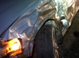 Motorista abandona carro na SP-294 entre Herculândia e Tupã após acidente