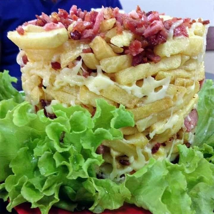 Torre de fritas
