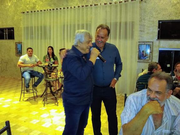 Eder Campos e José Carlos Magnani
