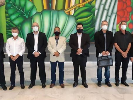 Prefeitos da Microrregião em reunião no Palácio dos Bandeirantes