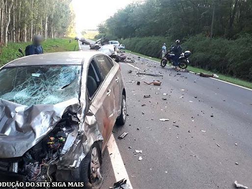 Acidente causa três mortes em rodovia que liga Adamantina e Mariápolis