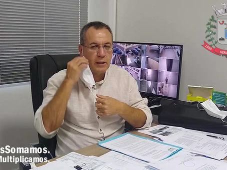 Prefeito de Herculândia marca reunião sábado 29/Maio com comerciantes da cidade