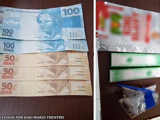 Polícia Militar de Quatá flagra menor com cédulas falsas de R$ 100 e R$ 50