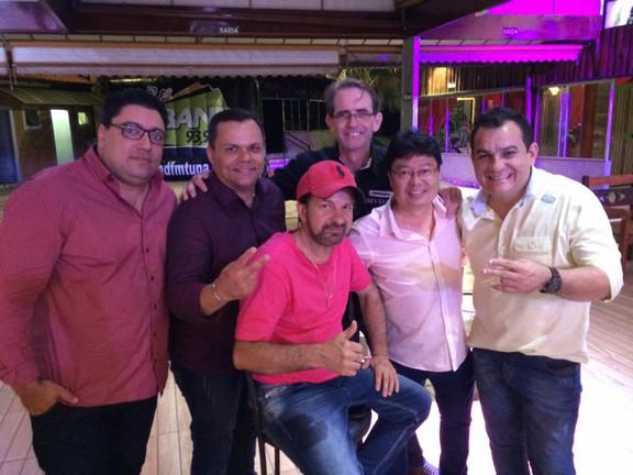 Rosa, Glaucio, Valentim, Piu Piu, Wesley Ito e Rogério Bala