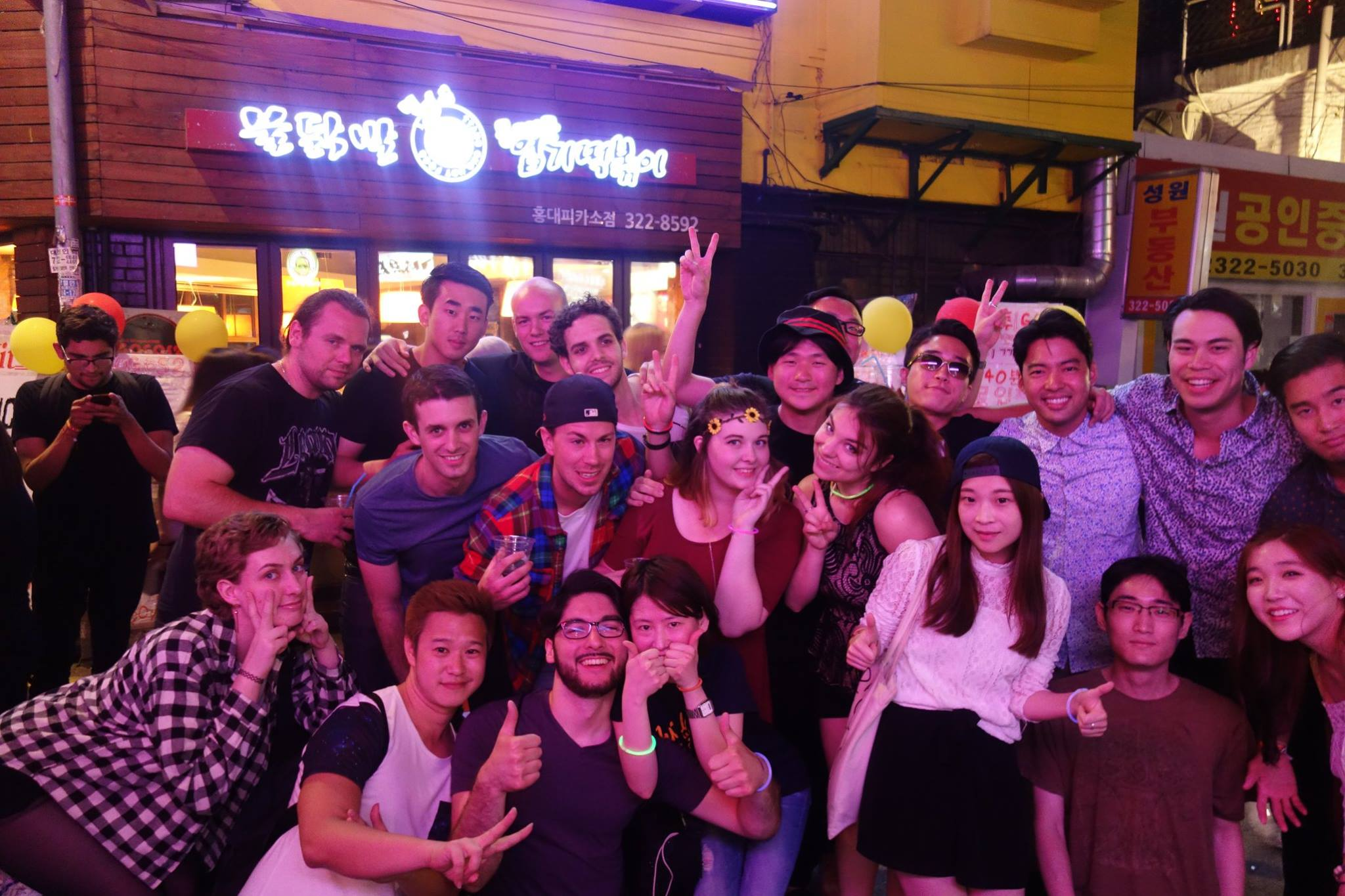 Absolute Pub Crawl Seoul Korea Hongdae Itaewon Gangnam international party club tour bar crawl langu