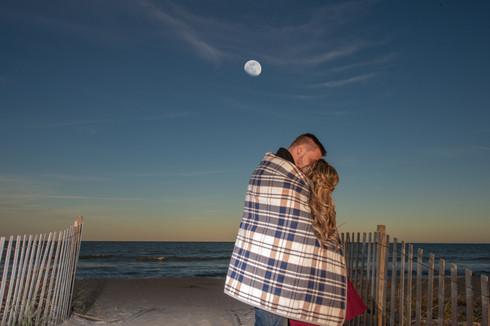 Engagement Beach Couple Daytona Beach