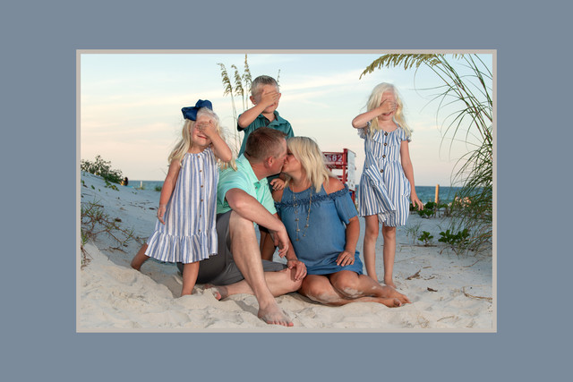 Family Beach Photography children