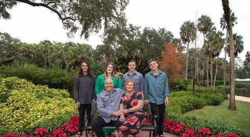 Family Portrait Session Washington Oaks Gardens