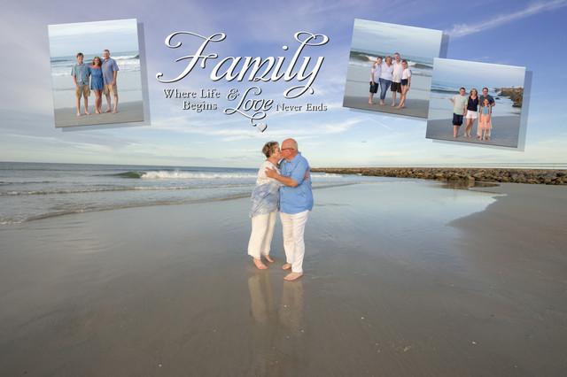 Anniversary reunion family photographer