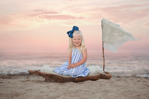 Child Daytona Beach Portrait session