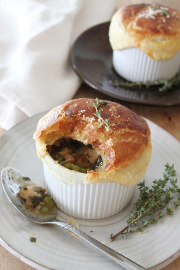 Turkey, Thyme, & Kale Pot Pie