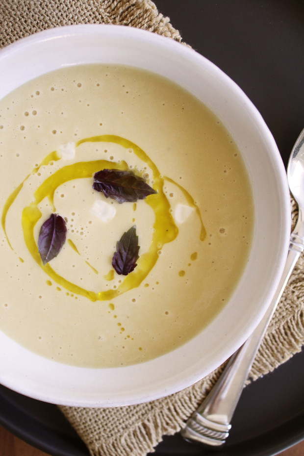 Chilled Sweet Corn Bisque