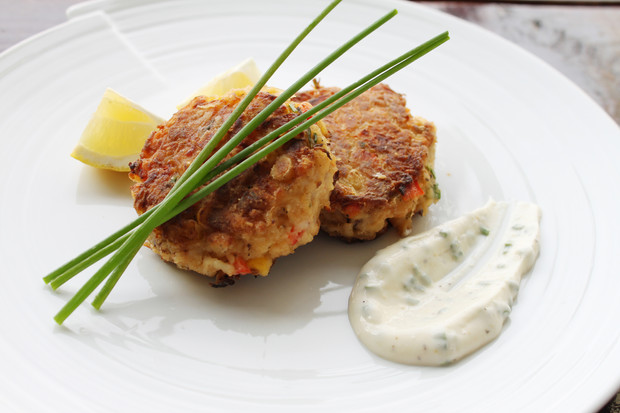 Super Loaded Crab Cakes
