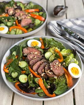 Steak Salad with Spicy Thai Vinaigrette