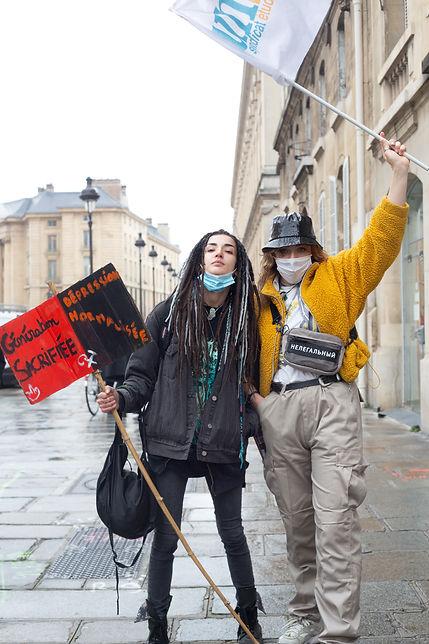 ©Patricia Quentin , manifestion des étudiants contre la précarité