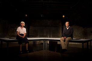 LE SQUARE , pièce de Théatre ,mise en scène Gérard Elbaz, Marguerite Duras