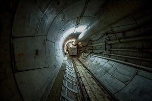 train du tunnelier