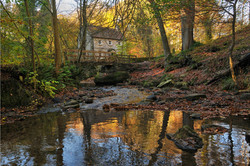 Cottage by the bridge (Falling Foss)