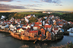 Sunrise at Staithes