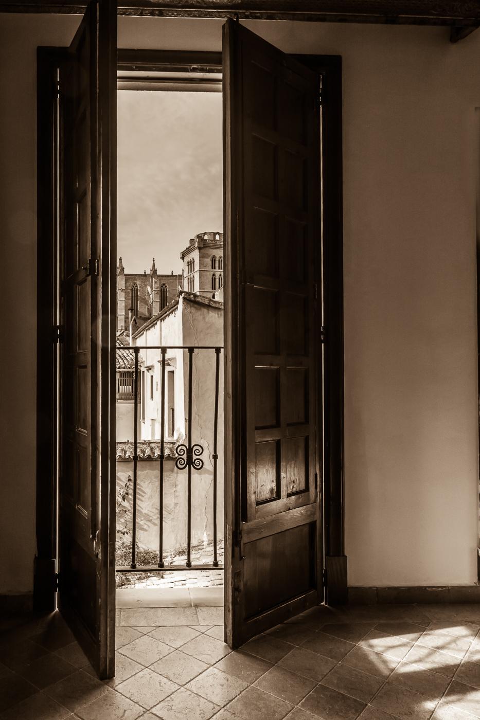 Through the window, Carmel Morris
