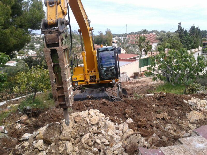 JCB excavtor